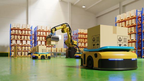 Automated Manufacturing Logistics Lidar App_XenomatiX